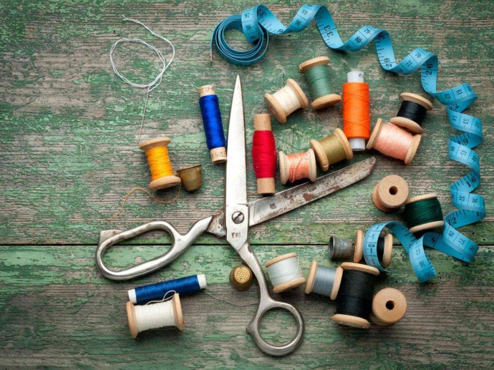 Hobby naald en draad